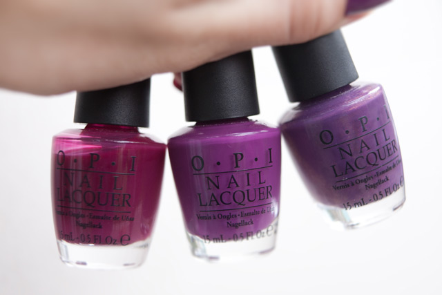 OPI Houston We Have A Purple Pamplona Purple Dutch 'Ya Just Love OPI?