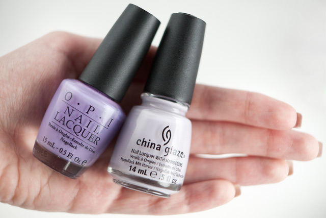 China Glaze Light As Air OPI Do You Lilac It?
