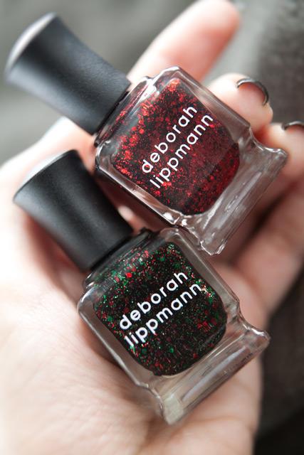 Deborah Lippmann Rockin Around the Christmas Tree Ruby Red Slippers