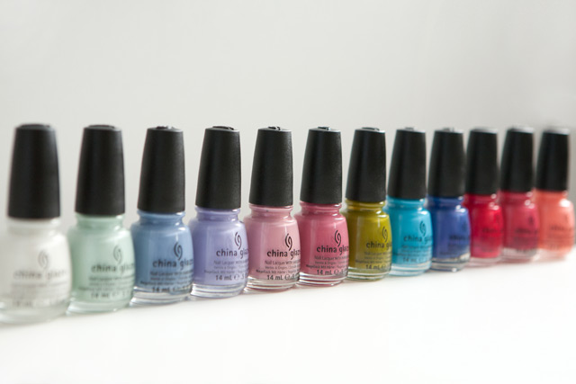 China Glaze Avant Garden collection spring 2013
