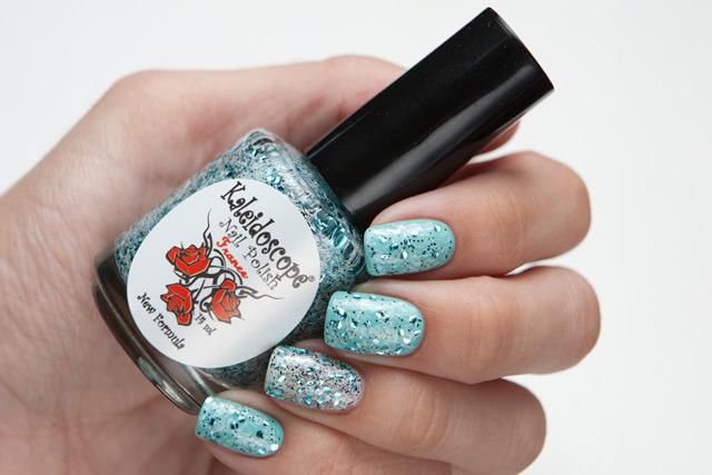 El Corazon Kaleidoscope Кружева и пайетки № 05 China Glaze For Audrey