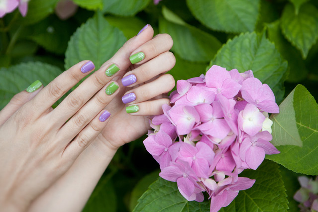 Collistar 559 Floral Lavender 533 Sports Green
