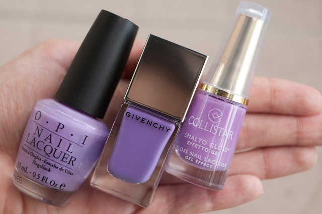 OPI Do You Lilac It? Givenchy Croisiere Purple Collistar 559 Floral Lavender