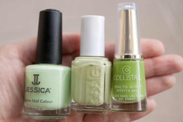 Jessica Viva La Lime Lights Essie Navigate Her Collistar 533 Sports Green
