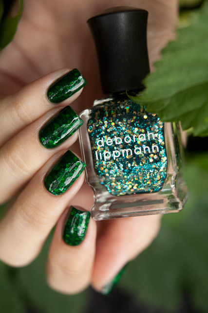 Deborah Lippmann Shake Your Money Maker ANNY Green Racing Drag