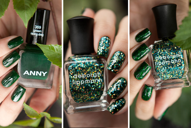 ANNY Green Racing Drag Deborah Lippmann Shake Your Money Maker