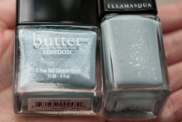 Butter London Lady Muck Illamasqua Raindrops
