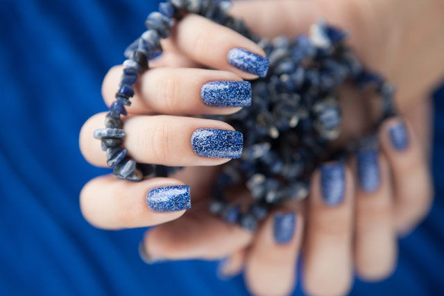 Dance Legend Caviar Polish 1011 Blue Regal