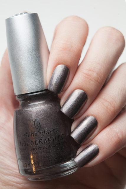 China Glaze 1209 Galactic Gray