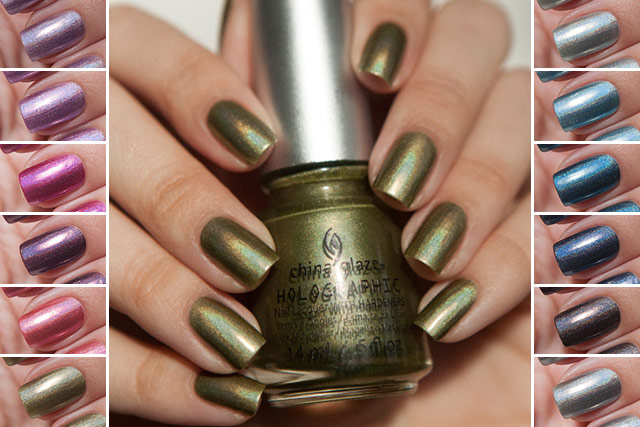 China Glaze HoloGlam collection cover