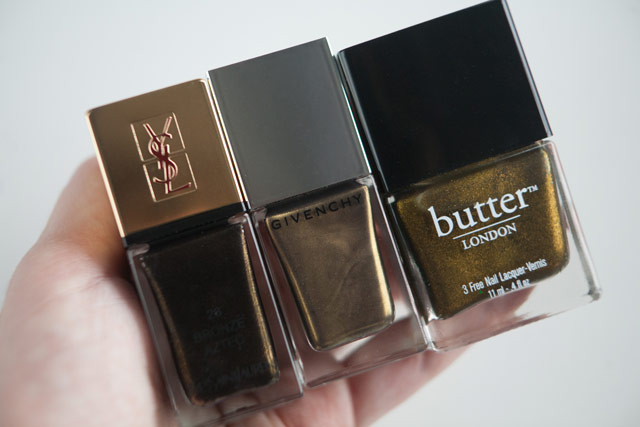 YSL Bronze Aztec Givenchy Bronze Precieux Butter London Wallis