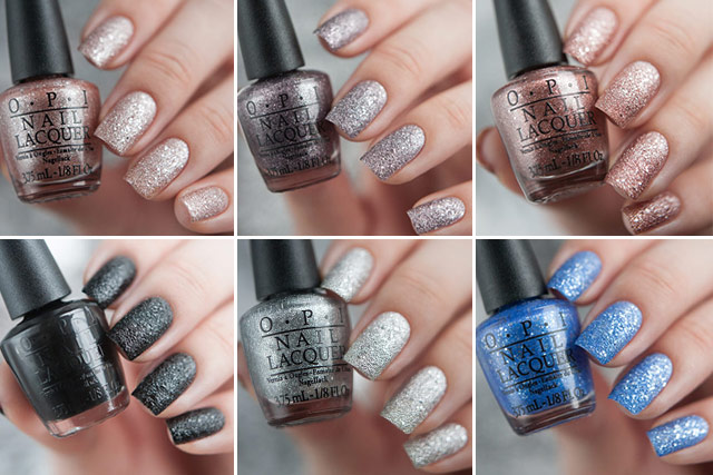 OPI Mariah Carey Holiday 2013 collection liquid sand