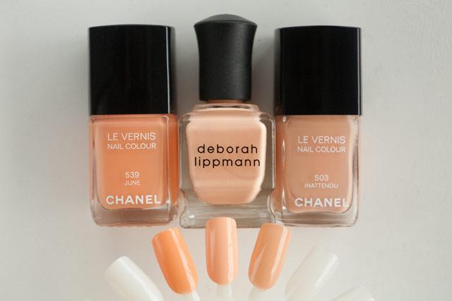 Chanel June Deborah Lippman Tip Toe Through The Tulips Inattendu