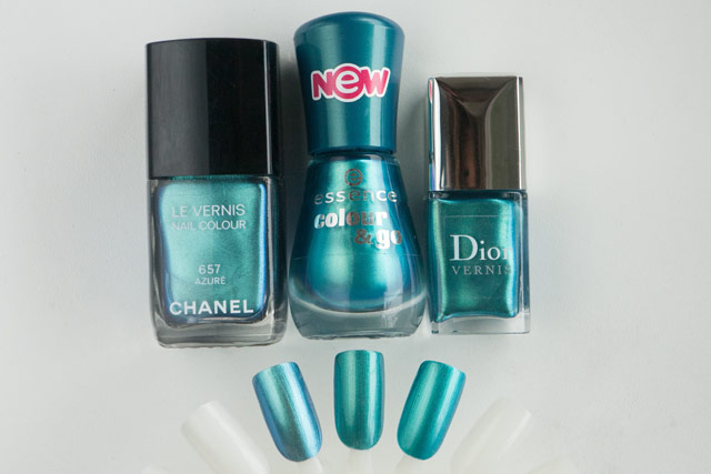 Chanel Azure Essence 172 Splash! Dior Samba 794