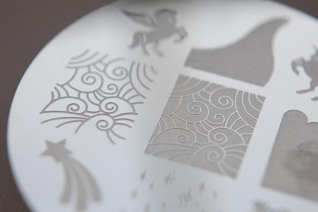 NailzCraze Stamping Plate NC02