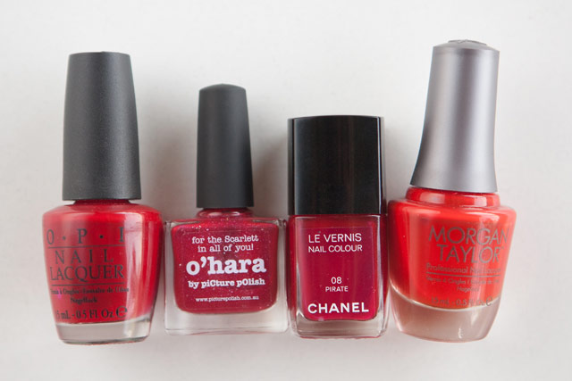 OPI Vodka & Caviar Picture Polish O'Hara Chanel Pirate Morgan Taylor Orange You Glad