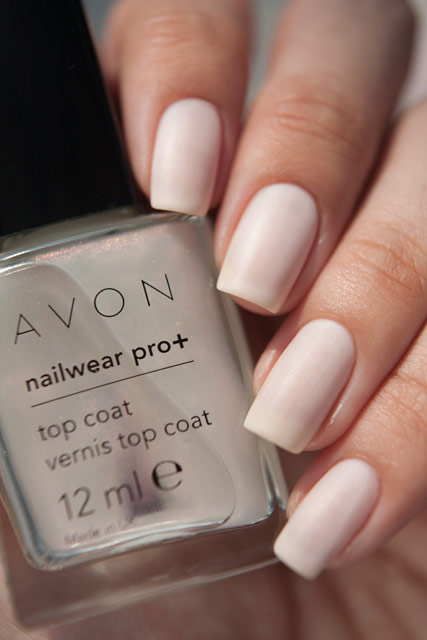 Avon Destination Peach top coat