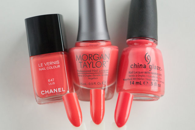 Chanel Lilis Morgan Taylor Get Sporty With It China Glaze High Hopes