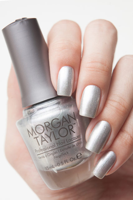 Morgan Taylor Oh Snap, It's Silver!