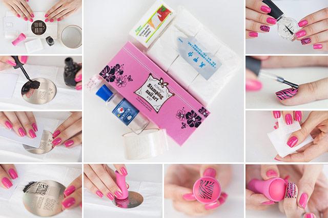 Нанесение рисунков на ногти в домашних условиях 798