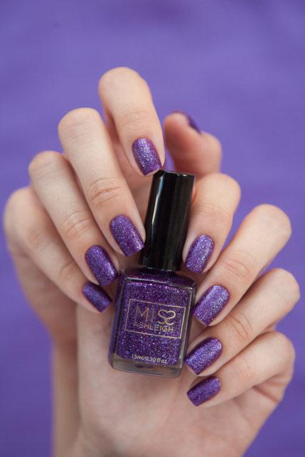 Miss Ashleigh Purple Grain