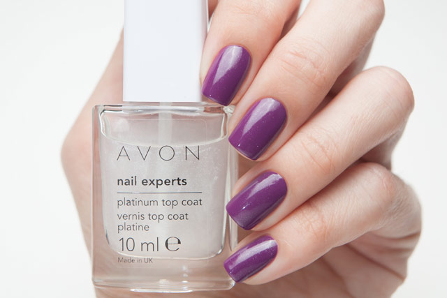 Avon Platinum Top Coat