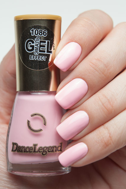 Dance Legend 1086 Эмаль Gel-Effect Mini