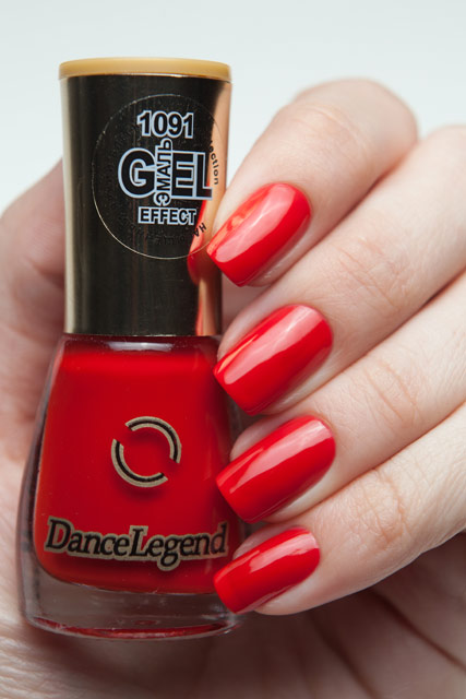 Dance Legend 1091 Эмаль Gel-Effect Mini