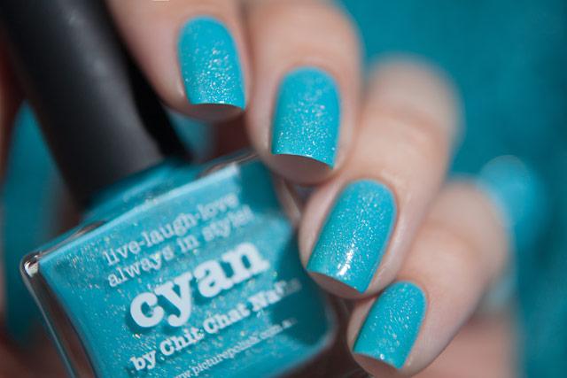 Picture Polish Cyan