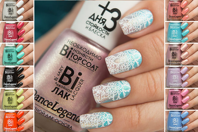 Dance Legend Binary collection & Pure Manicure