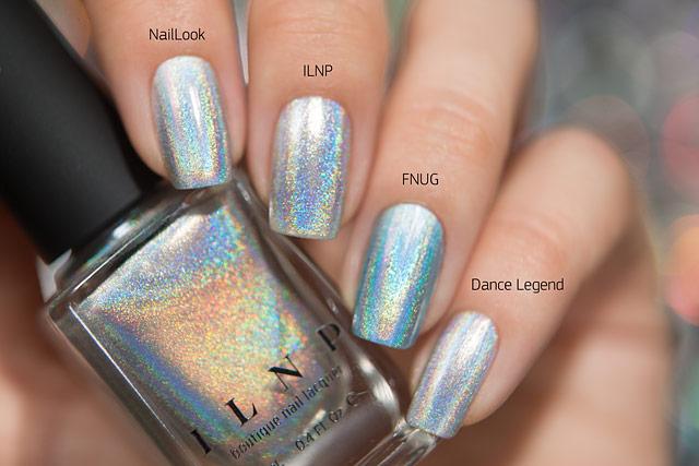 NailLook 31011 Holographic ILNP Mega (S) FNUG Futuristica Dance Legend New Prism T-1000