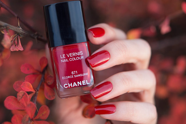 Chanel Ecorce Sanguine