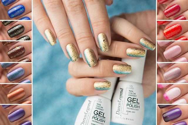 Dance Legend Gel Polish Effect
