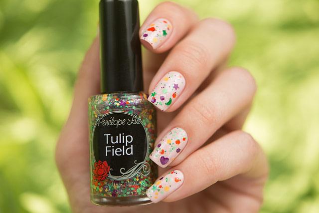 Penelope Luz Tulip Field