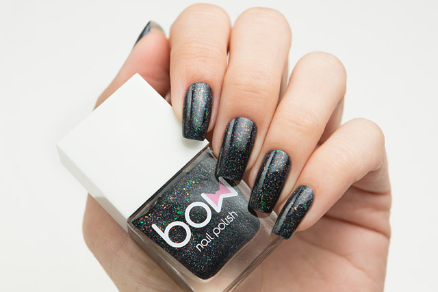 Bow Nail Polish Dark Days
