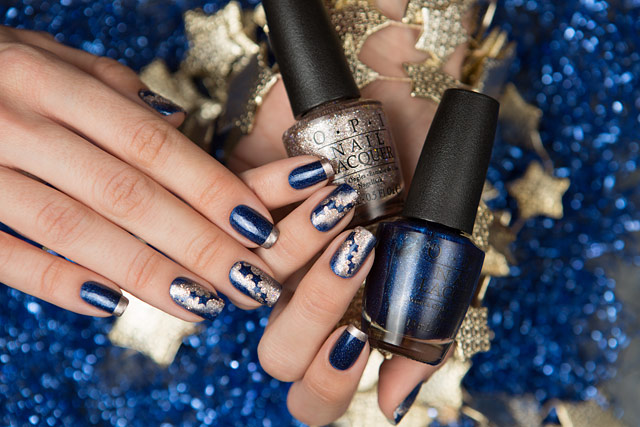 OPI Starlight collection HRG37 Give Me Space HRG46 Ce-less-tial is More HRG47 Press * for Silver