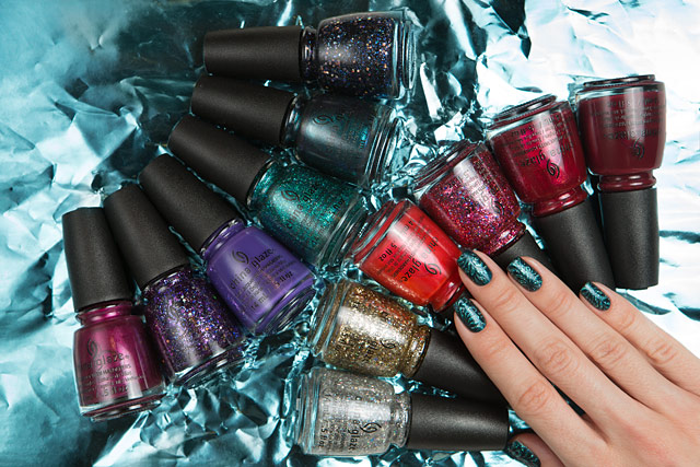 China Glaze Cheers! holiday collection