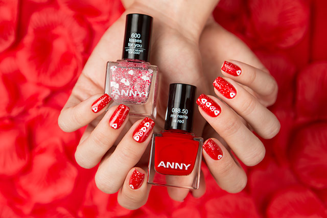 ANNY Love Is All We Need | 088.50 My Name Is Red | 600 Kisses For You