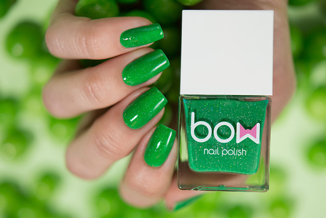 Bow Nail Polish Thermo Top Coat Green | Conversion collection