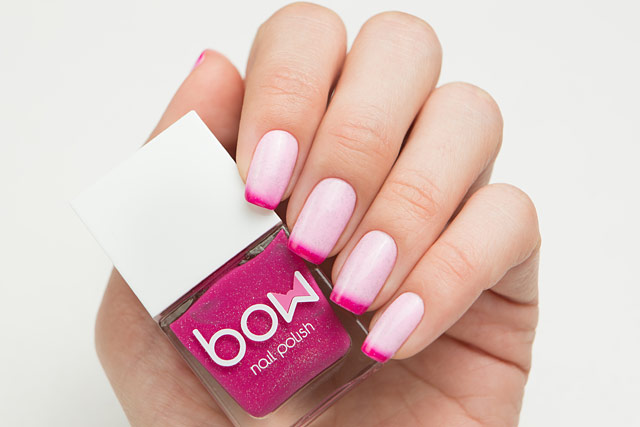 Bow Nail Polish Thermo Top Coat Pink | Conversion collection