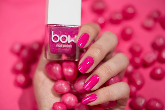 Bow Nail Polish Thermo Top Coat Pink   Conversion collection
