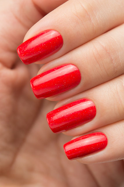 Bow Nail Polish Thermo Top Coat Red | Conversion collection