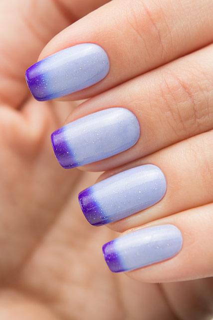 Bow Nail Polish Thermo Top Coat Violet | Conversion collection