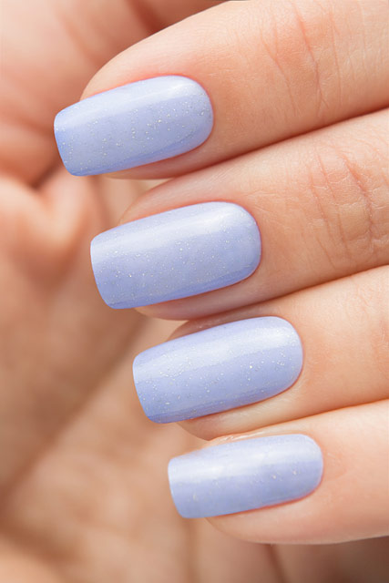 Bow Nail Polish Thermo Top Coat Violet   Conversion collection