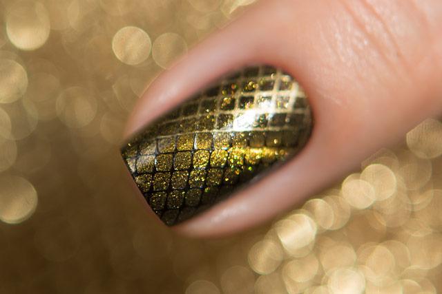 Dance Legend Top Magnetic Gold