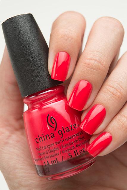 China Glaze 83541 Hot Flash | Lite Brites collection | Summer 2016
