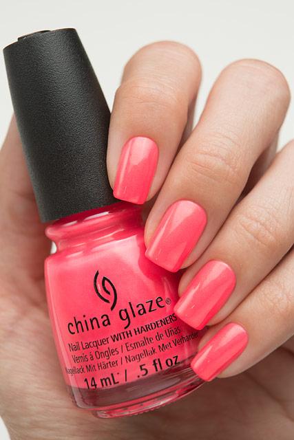 China Glaze 83542 Bite Me | Lite Brites collection | Summer 2016