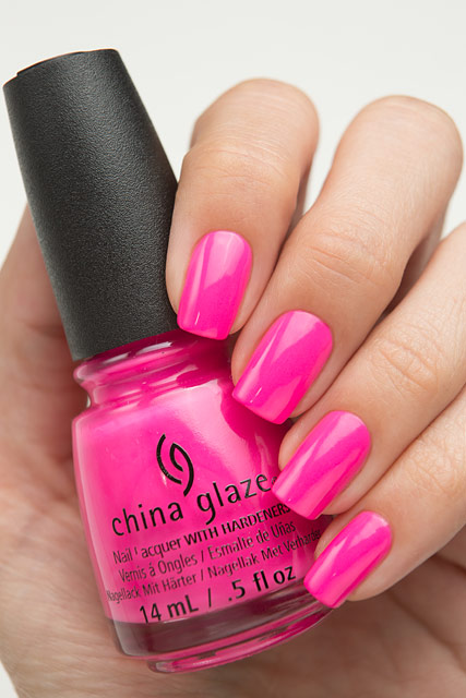 China Glaze 83543 I'll Pink To That | Lite Brites collection | Summer 2016