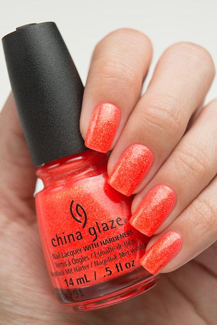China Glaze 83545 Papa Don't Peach | Lite Brites collection | Summer 2016