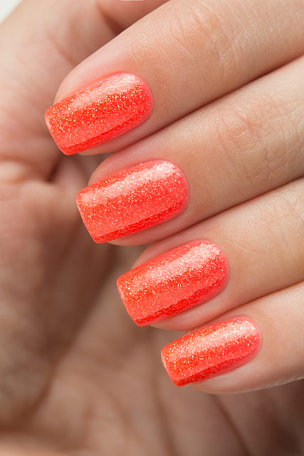 China Glaze 83545 Papa Don't Peach | Lite Brites collection | Summer 2016